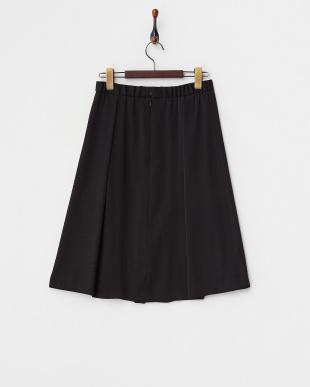 ブラック  エステルタック入りスカート見る