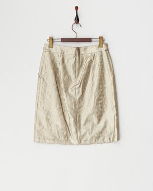 ゴールドB  リネンタイトスカート見る