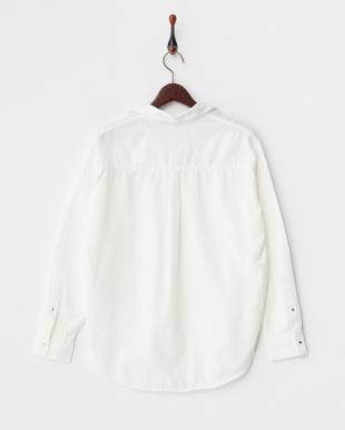 ホワイト  ライトデニムシャツ見る