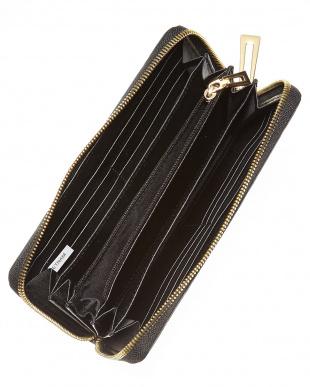 ブラック  ヘンローン社製クロコダイル ラウンドファスナー長財布見る