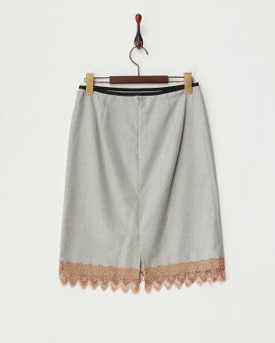 グレー  ロロピアーナ スカート見る