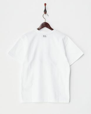 ホワイト  LOGO Tシャツ見る