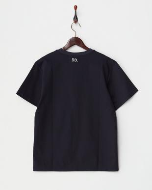 ネイビー  LOGO Tシャツ見る