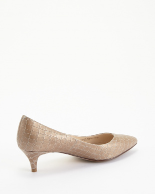 BEIGE  CROC PRINT JULIANA PUMP 45見る