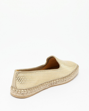 GOLD PATENT PERF  RIELLE ESPADRILLE見る