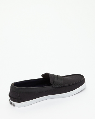 BLK CNVS/BLK LT NANTUCKET LOAFER見る