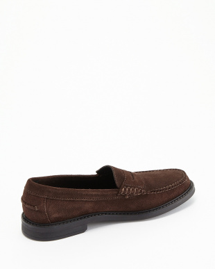 CHESTNUT SUEDE PINCH CAMPUS PENNY見る