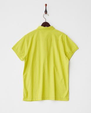 YELLOW系  前たてポケット付きポロシャツ見る