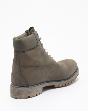 Grey Nubuck Monochromatic 6インチブーツ見る