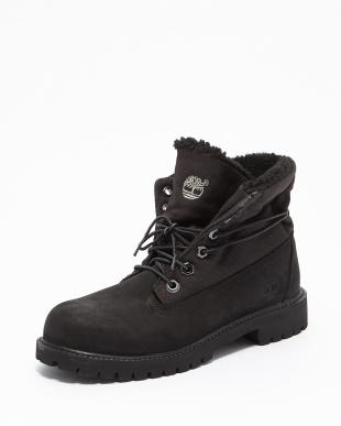BLACK   ROLLTOP  F/L W/ SHRLNG ブーツ見る