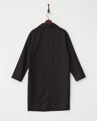 BLACK  テーラードロングジャケット見る