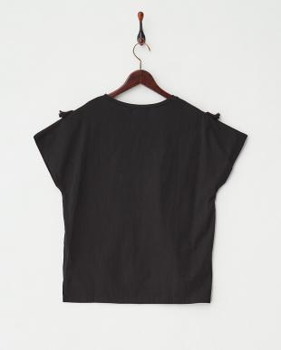 BLACK  フリンジTシャツ見る