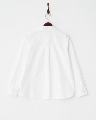 ホワイト  ベーシックシャツ見る