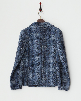 CHINA BLUE NIZZA Short Coat見る