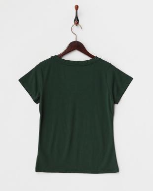 グリーン  マルチ機能素材 VネックTシャツ見る