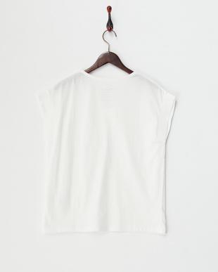 オフ 太衿VネックTシャツ見る