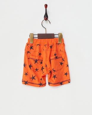 オレンジ 星柄ショートパンツ見る
