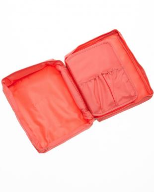 ピンク  トラベルコスメティックバッグ見る
