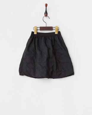 ブラック ドットバルーンスカート KIDS見る