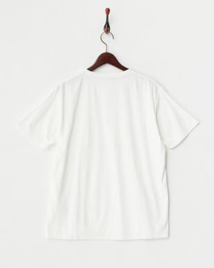 ホワイト  パイルポケットTシャツ見る