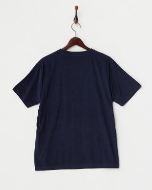 ネイビー  パイルポケットTシャツ見る