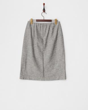 ダークグレー  ジャージータイトスカート見る
