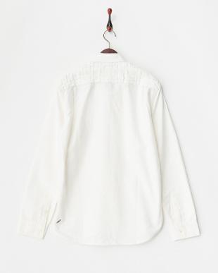 WHITE  Pocket Shirt見る
