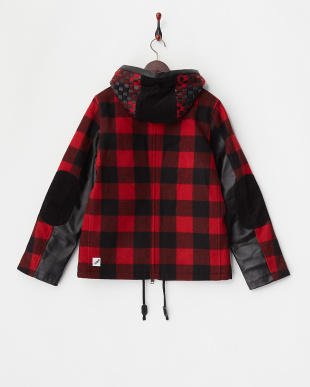RED  HOODED COACH JKT見る
