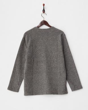 GRAY  【B】ブークレVネックTシャツ見る