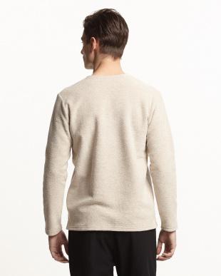 IVORY  【B】ブークレVネックTシャツ見る