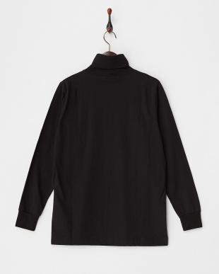 BLACK  【A】タートルネックTシャツ見る