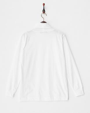 WHITE  【A】タートルネックTシャツ見る