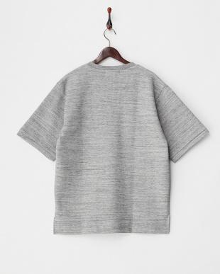 GRAY Vネックテックスウェットシャツ(5分袖)見る