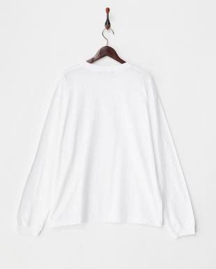 WHITE  ビッグロングTシャツ見る