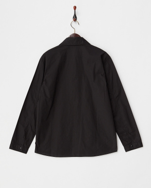 BLACK  タイプライターシャツジャケット見る
