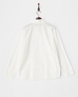 WHITE  タイプライターシャツジャケット見る