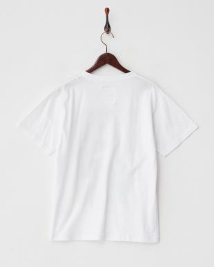 ホワイト×イエロー  フォトプリントTシャツ見る