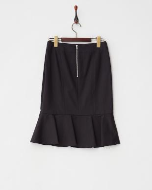 ブラック  マーメイドスカート見る