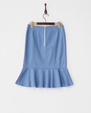 ブルー  マーメイドスカート見る