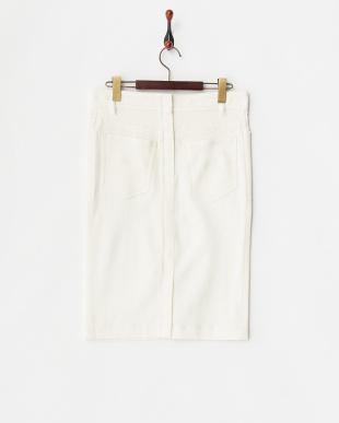 ホワイト ペーパーブラックススカート見る