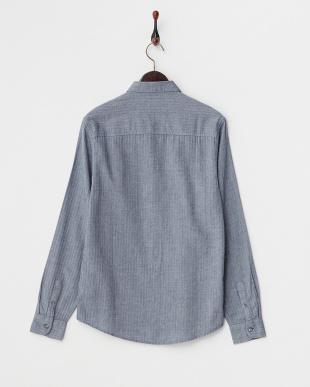 BLUE WE:L/S BLE MITCHEL HERRINGBONE BD SHIRT見る