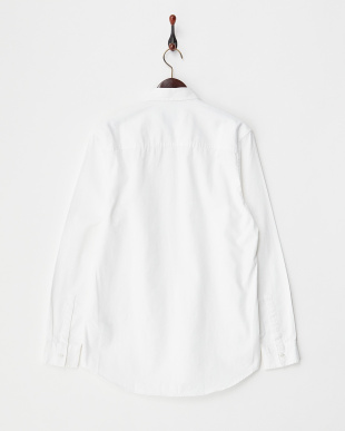 WHITE LS WHT WASHED TWILL SHIRT見る