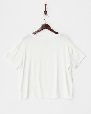NATURAL WHITE  WMNS SS CORE TEES ポケット付きワイドTシャツ見る