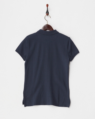 NAVY  WMNS POLO ワンポイント刺繍ポロシャツ見る