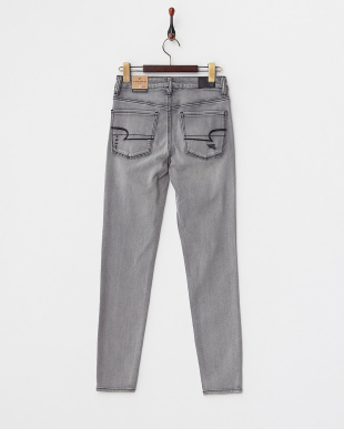 SMOKED GRAY HIGH-RISE JEGGING SUPER SUPER STRETCH パンツ見る