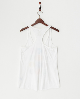 WHITE WMNS TANKS New York Subway Guide Yバックタンクトップ見る