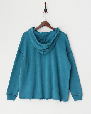 BLUE WMNS FASHION FLEECE 裏毛パーカー見る