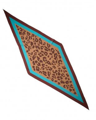 ブラウン  マルチローンバススカーフ見る