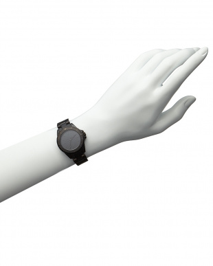 ブラック coal-black Diver腕時計見る