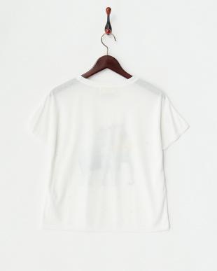 オフ エレファントプリントTシャツ見る